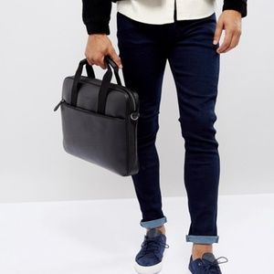 Ted Baker London Morcor Leather Briefcase